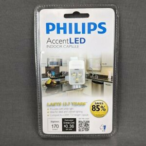 Philips Accent LED Indoor Capsule 2700K 170 Lumens Clear Light Bulbs G4 Pin