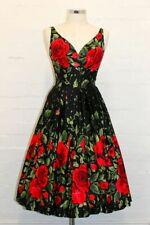 Retrospec'd 16 Elizabeth Empress Dress VLV Spanish Rose Pinup Swing