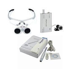 MD740 Dental Intra Oral Camera + Binocular Loupes 3.5x 420mm + LED Headlight