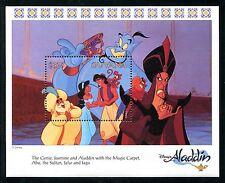 Guyana 2762, MNH, Disney Animation Film Haracters, Aladin 1993. x14445j