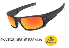 3e15801c4b Gafas sol lentes naranja +Funda Regalo hombre mujer conducir ciclismo verano