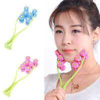 Double Face Roller Massager Face-Lift Facial Care Neck Body Slimming Beauty Tool