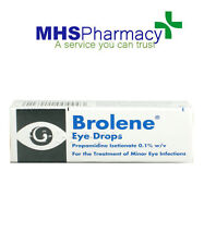 Brolene 10ml Minor Bacterial Eye Infections Drops Conjunctivitis,Blephritis UK