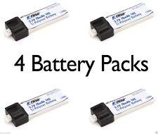 Latest E-Flite 4 pcs Blade Scout CX 70mAh 1S 3.7V 14C LiPo Battery # EFLB0701S
