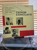 Tenor Conclave by Hank Mobley / John Coltrane  / Al Cohen / Zoot Sims,vg+/vg+