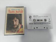 JUAN PARDO MENDIGO DE AMOR CINTA TAPE CASSETTE ZAFIRO 1983