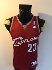 Maillot Basket Ancien Nba Champion Cleveland Numero 23 James Taille XS
