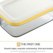 2 in1 Butter Dish Butter Serving Tray with Lid HIGH Container Box QU A5X8