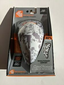 NEW Shock Doctor 235 AirCore Digital Camo Sports Hard Cup Only Boys LARGE
