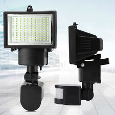 Outdoor 100LED PIR Motion Sensor Security Floodlight Lamp Garden Shed light 1BL