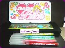 🐟PICHI PICHI PITCH Mermaid Melody NAKAYOSI 2003 Furoku A can case Pens set🐟