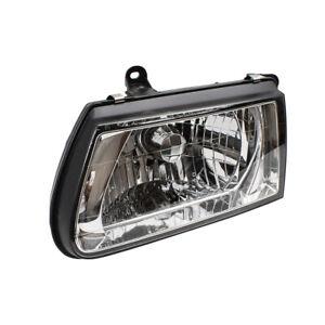 Headlight fits fits 00-02 Honda Passport Isuzu Rodeo Driver Lamp Chrome Bezel