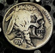Random Full Date Indian Skull Hobo Nicke! By JB