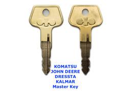 2 x KOMATSU 787  Master  Plant  Excavator  Digger  Keys + FAST FREE POST !
