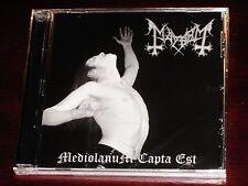 Mayhem: Mediolanum Capta Est CD 2007 Peaceville Records Germany CDVILED189 NEW
