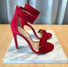KOOKAI Red Immogen Heels Size 39, Size 8, NEW