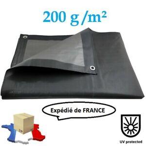 Housse Bâche de Protection 3m x 4m Ultra résistante pour Voiture Bois Table