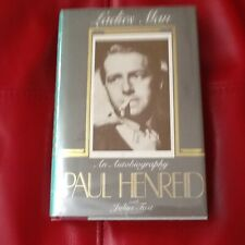 Paul Henreid Autobio 40s Actor Casablanca Now Voyager Bogart Davis Photos Hc/Dj