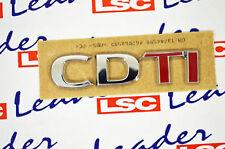 Opel Astra /Corsa /Insignia /Meriva/Vectra usw. CDTI Emblem 93189518 ORIGINAL GM