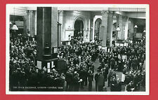 Vintage Postcard THE Stock Exchange General View London EC  Real  Photograph