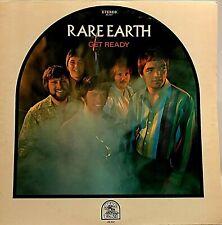 """RARE EARTH """"Get Ready"""" Vinyl LP - 1969 Rare Earth RS 507 - EX / EX"""