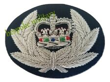 More details for police chief constable bullion wire hand embroidered cap badge (high quality)