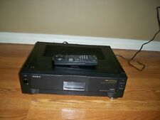 Sony SLV-R1000 Super S-VHS VHS Player Recorder HiFi Stereo VCR Recorder TESTED!
