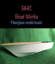 """rc boat fiberglass hull 27-1/2""""X 8"""""""