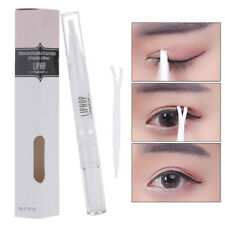 Women Natrual Invisible Clear Dual Eyelid Maker Glue Essence Gel Beauty Tool ,3g