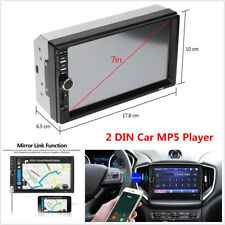 "2DIN 7"" In-dash Car Stereo Radio Touch Screen FM Bluetooth MP5 Multimedia Player"