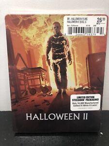 Halloween II (4K Scan, Blu-ray+DVD, Limited Edition) Steelbook - New Sealed OOP