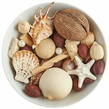 Pier 1 Imports Coconut Isles Potpourri Room Fragrance Brown White New