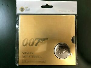 England Great Britain The Royal Mint 007 James Bond 5 Pounds FDC 2020