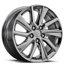 "4ea 17"" Lexus ES300  Wheels FR 82 Black Chrome OEM Replica Rims (S1)"