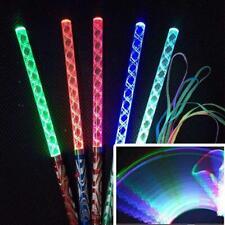 Flashing LED Light Wand Glow Stick Colorful Concert Light Party I6N4 Dance O3B0