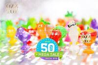Coles Mini Little Shop COLLECTABLES Stikeez Collector's Case Full set 24 Rare
