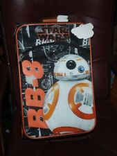 """BB-8 Disney Star Wars Luggage Rolling 17"""" inches Pilot Case Luggage NEW Licensed"""