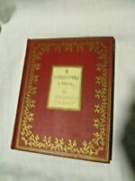 "Rare 1938 ""A CHRISTMAS CAROL"" IN PROSE by Charles Dickens~Full of Illustrations"