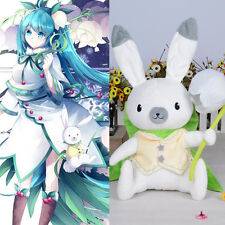 VOCALOID snow Miku Hatsu 2015 Bell Cosplay Kostüm Hase Plüschfigur Stofftiere