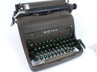 Royal Typewriter Antique/Vintage 1950s-60's Green Keys