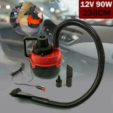 12V Wet Dry Portable Vacuum Cleaner Inflator Turbo Hand Held For Car Home Boat