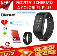 SMART WATCH OROLOGIO LED SPORT frequenza cardiaca pressione sanguigna  Fitness