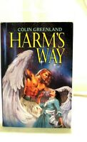1993 Harms Way Hardcover Book Novel Colin Greenland Avon Books