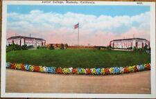 Modesto, CA 1910 Postcard: Junior College - California Cal