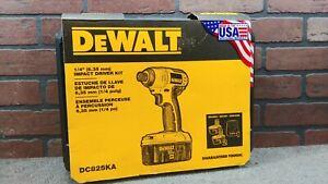Dewalt DC825KA Tool Kit Box -***NEW***