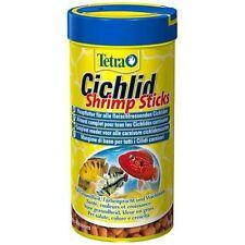 Tetra cichlid bâtonnets de Crevette Aliment complet pour tous les poissons carnivores Cichlid 85g
