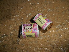 GLOSSY BABY MINNIE MOUSE HERSHEY NUGGET WRAPPERS BIRTHDAY PARTY FAVORS