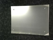 4mm FRAMELESS POLISHED & DRILLED MIRROR MADE TO YOUR OWN SIZE upto 914mm x 610mm