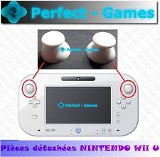 2 capuchons caps button thumbs stick blanc white joystick gamepad NINTENDO Wii U