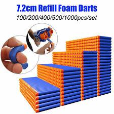 1000Pcs Nerf Darts Refill Nerf Bullets Round Head Blasters For Nerf Gun N-Strike
